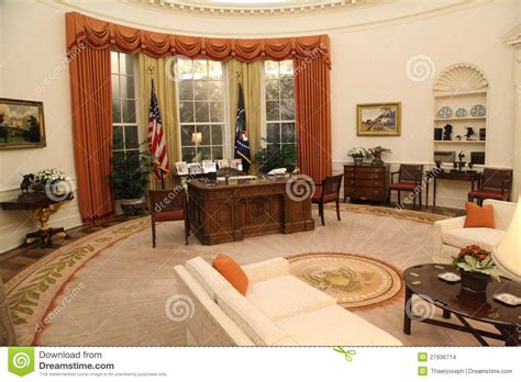 oval office clock the oval office editorial stock image image 27936714