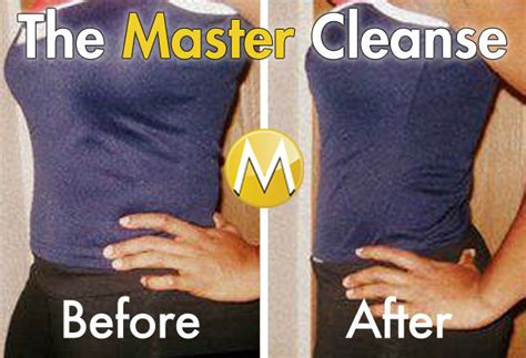Lemonade Detox Diet Success Stories by Master Cleanse Before And After