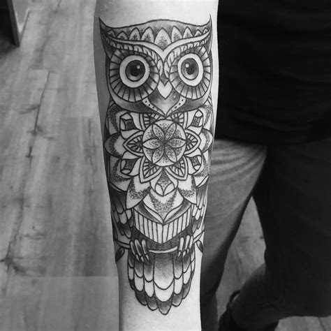tattoo mandala owl amber jane tattoo tatto ideas pinterest owl