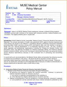Business Policy And Procedure Template Sop Standard Operating Procedure Template Sop Template Sop