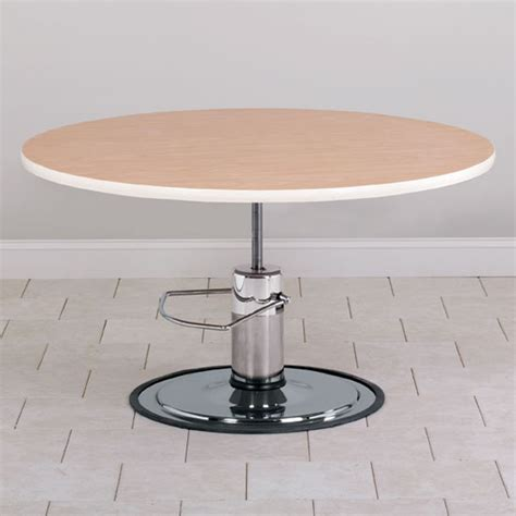 table top hydraulic round top hydraulic table free shipping