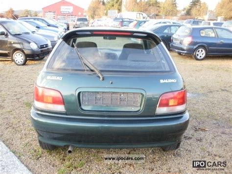 Suzuki Baleno 2001 2001 Suzuki Baleno 1 3 Car Photo And Specs