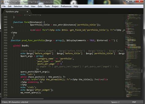 format html with sublime text 2 los mejores editores de texto para programar