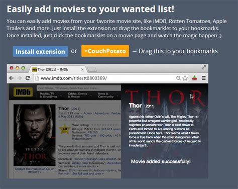 couch potato server configure couchpotato for usenet movies
