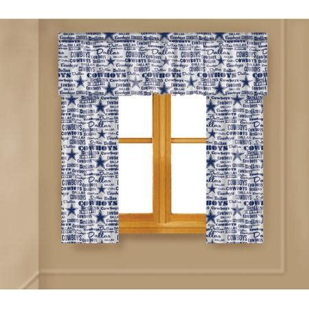 dallas cowboys curtains buy nfl dallas cowboys anthem curtain panels and valance