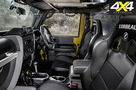Custom Jeep Interior Custom 4x4 Jeep Wrangler Unlimited