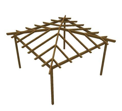 kit gazebo in legno gazebo in legno quadrato pergola gabriel