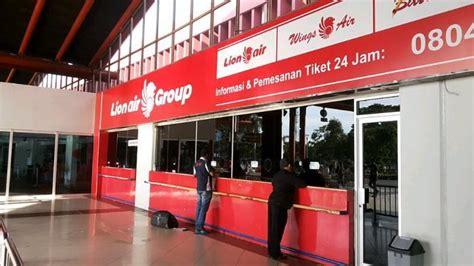 Loket Tiket Penjualan Tiket Pesawat di Bandara Akan
