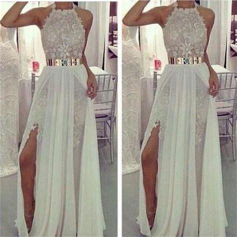 lace chiffon wedding dress 2015 with gold belt