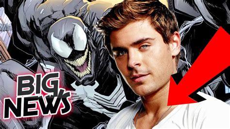 zac efron venom rumor zac efron is sony s r rated venom for spiderman