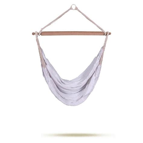 White Hammock Knit Hanging Chair White Simply Hammocks