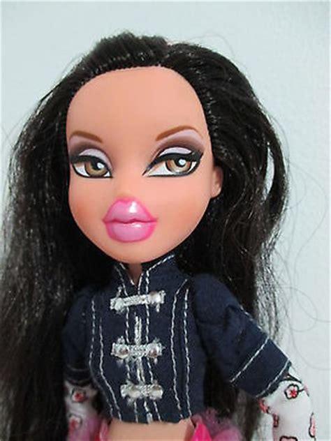 bratz doll pink hair bratz by brand company character dolls dolls bears