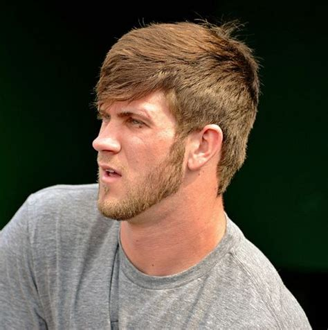 bryce harper hairstyle bryce harper baseball pinterest posts lady and bangs