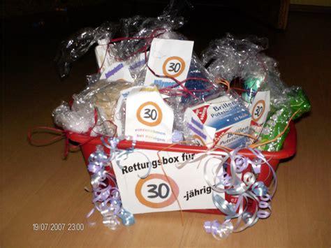 geschenke zum 30ten diese hatten wir verschenkt zum 30 geburtstag einer