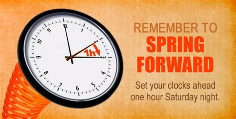 When Is Day Lights Savings by Daylight Savings Time Dst Summer Change Forward