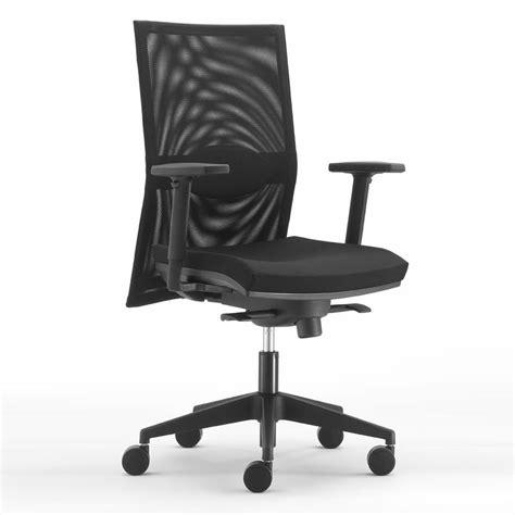 sedie braccioli ml497 sedia operativa da ufficio schienale alto in rete