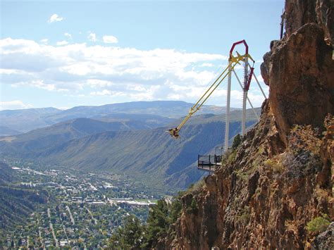 glenwood springs swing ride 10 crazy things to do in colorado the denver city page