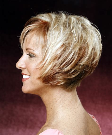 short hairstyles 2014 over 60 with high and low lights stacked back haircuts for women over 60 fashion short