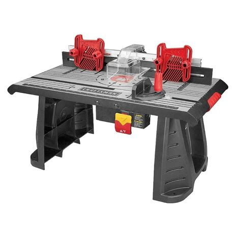 router table die cast aluminum craftsman working cutting