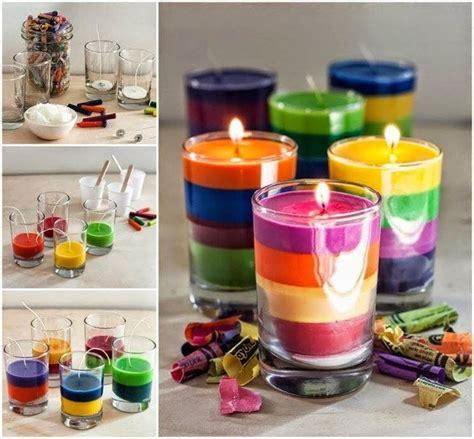 creare candele colorate candele fai da te per un tocco di originalit 224 bricolage