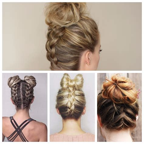 Braided Bun Hairstyles by Updo Hairstyle Ideas 2017 New Hairstyles 2017 For