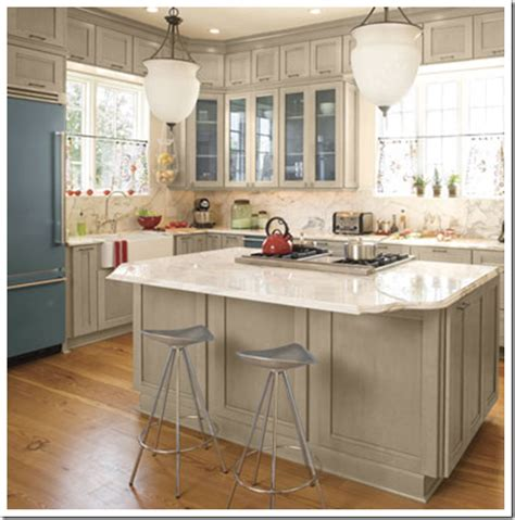 grey stained cabinets like the lighter grey 2nd but the flat drawer profile of the 3rd image gallery light grey kitchen cabinets