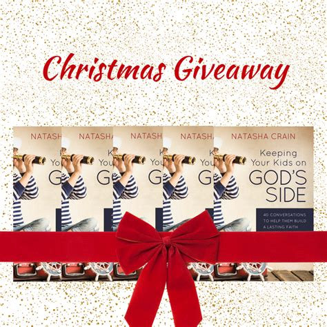 Christmas Giveaways For Kids - christmas giveaway 5 signed copies of keeping your kids on god s side