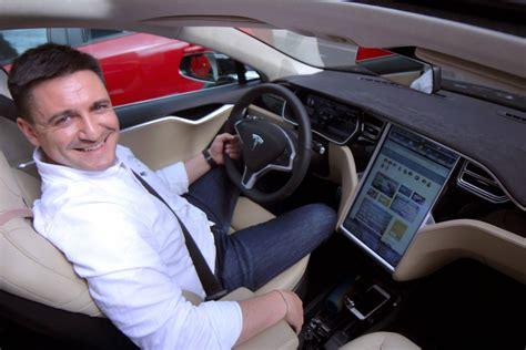 Tesla Pe Tesla Model S P85d De La Pompă La Priză 187 George