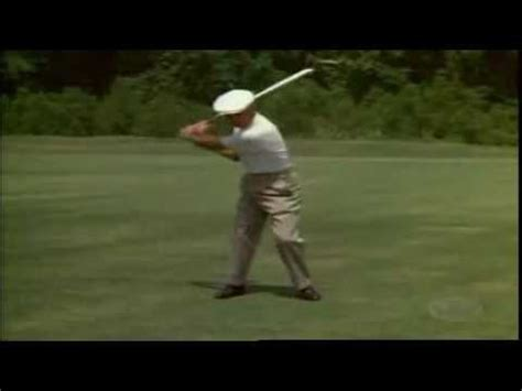 youtube ben hogan swing ben hogan golf swing youtube