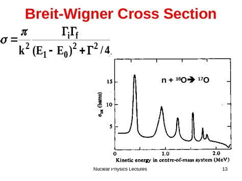 cross section particle physics nuclear physics lectures 1 cross sections