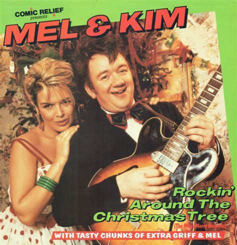 mel kim rockin around the christmas tree vinyl at