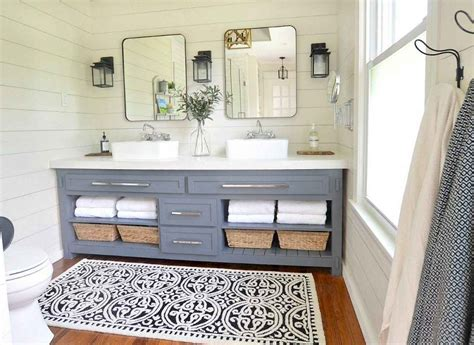 Lighting Design Ideas Farmhouse Bathroom Lighting Images About Vanity Lights On by 90 Best L For Farmhouse Bathroom Lighting Ideas Roomadness