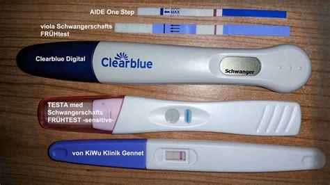 schwangerschaftstest ab wann positiv schwangerschaftstests im test das leben ist kein ponyhof