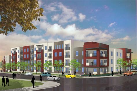 appartments in denver mercy housing begins construction on ktgy designed bluff lake apartment homes in