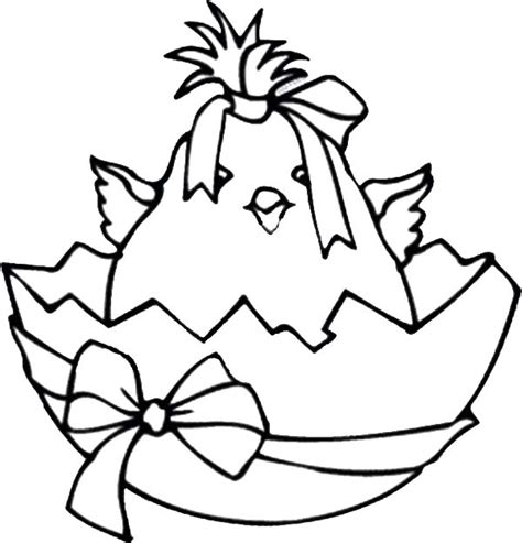 broken egg coloring page free coloring pages