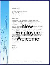 send this new employee welcome letter to make your