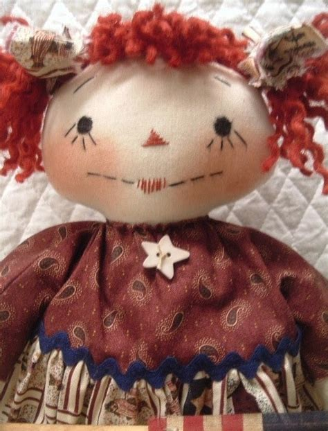 Handmade Rag Dolls For Sale - handmade teddy bears and raggedies americana prim raggedy