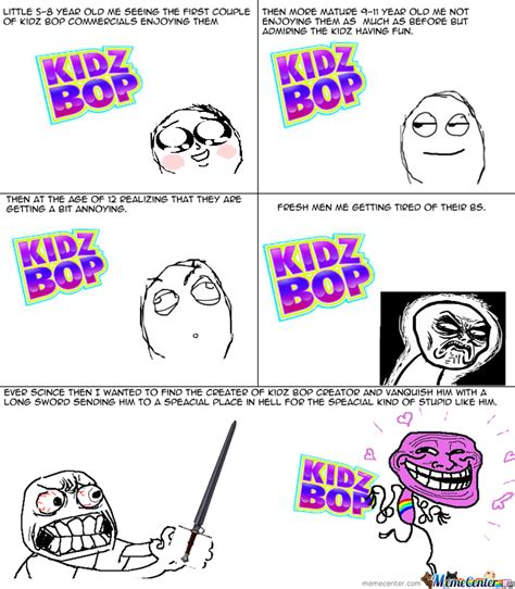 Kidz Bop Meme - freakin kidz bop by recyclebin meme center