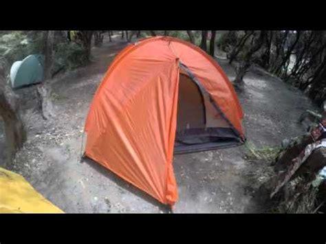Tenda Merapi Mountain cara mendirikan tenda dome timelapse merapi mountain