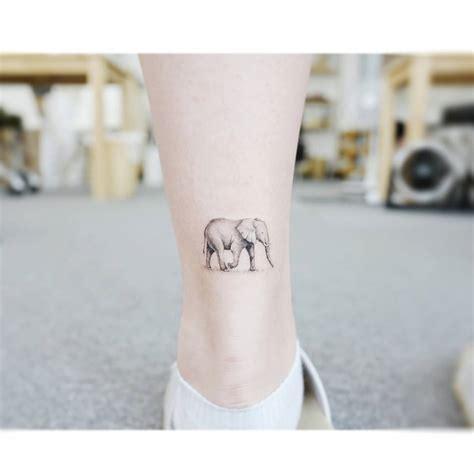 elephant tattoo on heel elephant tattoo on the achilles heel