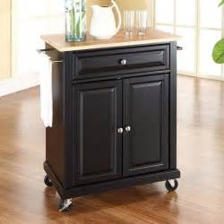Portable Kitchen Cabinets by Kitchen Portable Kitchen Island Carts With Black Stained