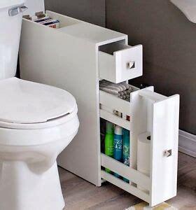 Narrow Bathroom Cupboard - narrow bathroom cabinet storage drawer small bath