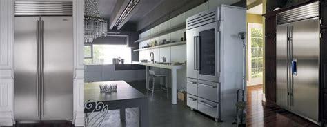 kitchen appliances los angeles sub zero side by side fridge beverly hills kitchen