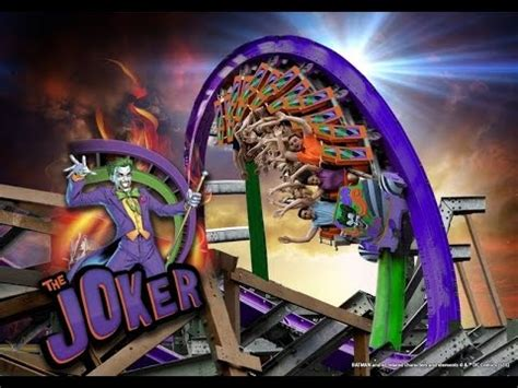 Kaos Batman V Superman 13 Tx the joker six flags discovery kingdom 2016 ride
