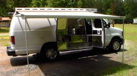 Awning For Vans by Plain Looking Cer Hides A Custom Interior