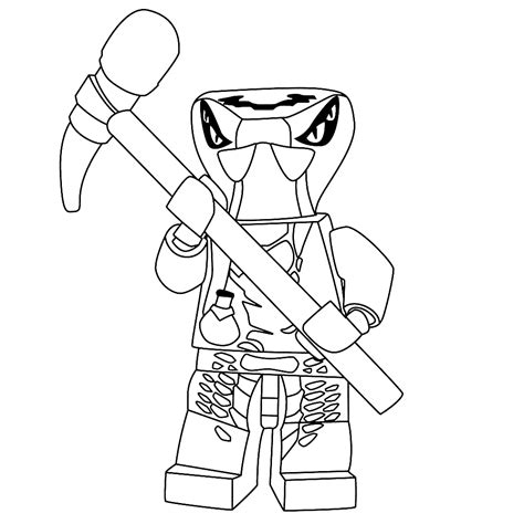 ninjago nindroids coloring pages leuk voor kids spitta