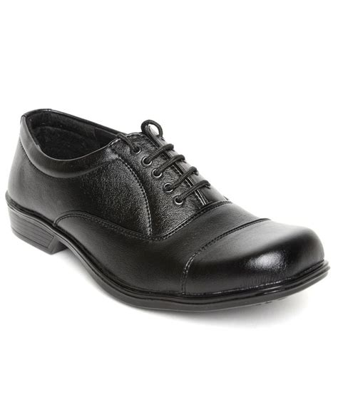 bharat shoe store black formal shoes price in india buy