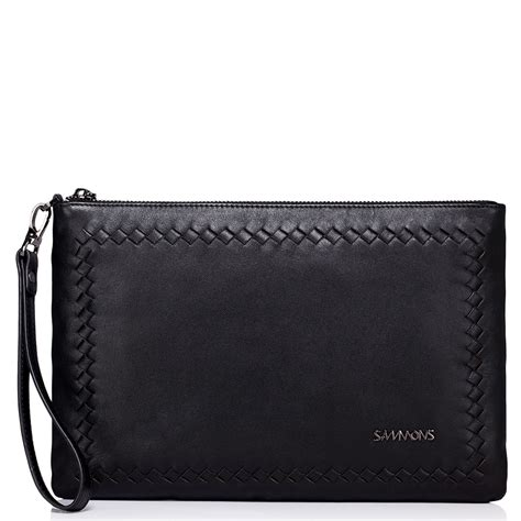 Clutch Bag Series edinburgh series clutch bag black