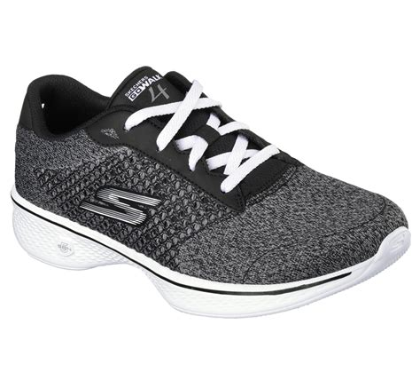 sears womens athletic shoes skechers s gowalk exceed athletic shoe gray wide