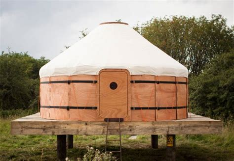 Little House Designs by Sturdy Camping Structures Yurt Tent